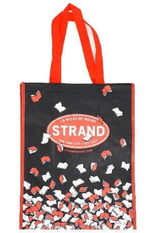 Tote Bag: Recycled Falling Books