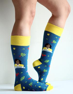 Sock: Michelle Obama Veggies New Arrivals!