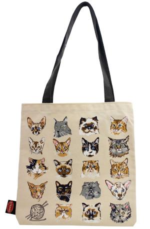 Tote Bag: Grey Cats of NYC Tote Bags & Pouches