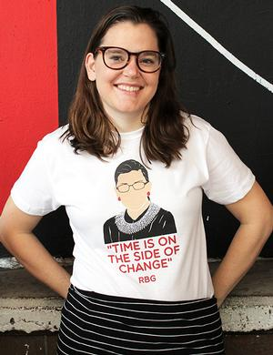 T-shirt: RBG Icon