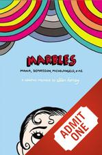 11/19 Event + Book: Marbles: Mania, Depression, Michelangelo and Me