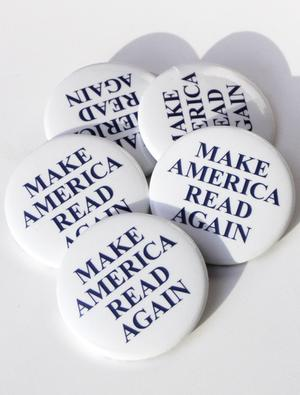 Make America Read Again Button Combo (5 Pack)