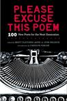 Please Excuse This Poem: 100 New Poets for the Next Generation Pre-Order Signed