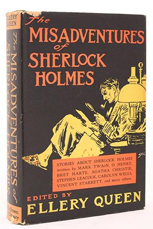 The Misadventures of Sherlock Holmes Rare Books - Mystery/Science Fiction