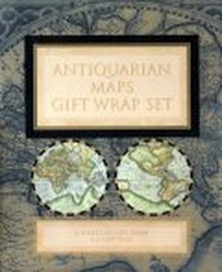 Antiquarian Maps: Gift Wrap Set Stationery