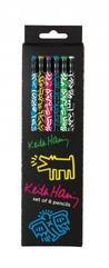 Pencil Set: Keith Haring Stationery