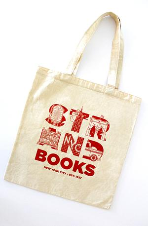 Tote Bag: Strand Letters Strand Exclusives
