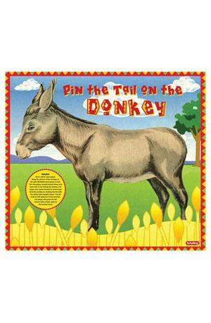 Pin the Tail on the Donkey Game Toys & Games