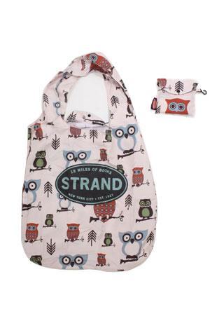 Folding Tote: Hooty the Owl