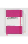 Large Pink Squared Notebook