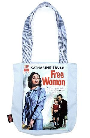 Tote Bag: Pulp Free Woman